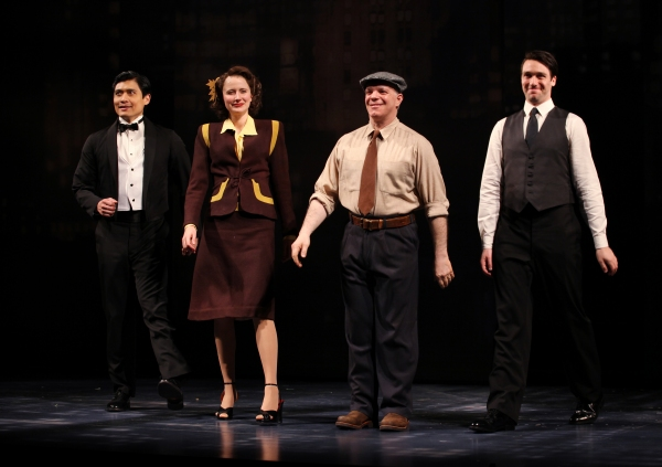 Photo Coverage: BREAKFAST AT TIFFANY'S Opening Night Curtain Call!