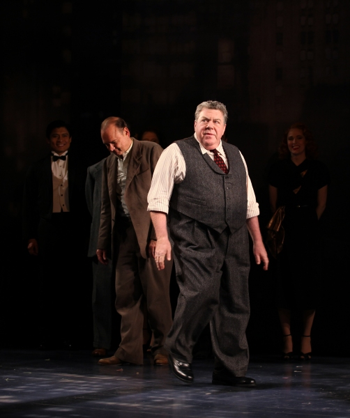 George Wendt with ensemble cast