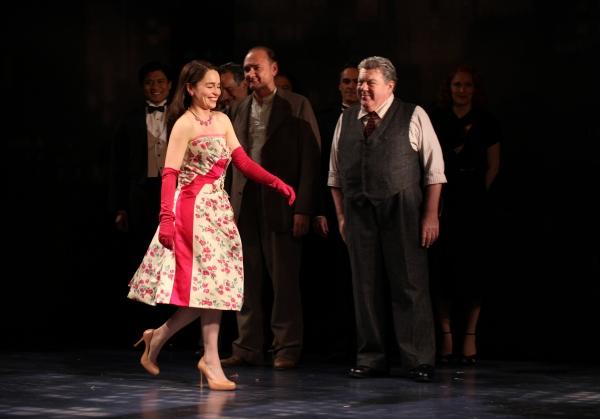 Emilia Clarke & George Wendt with Ensemble cast
