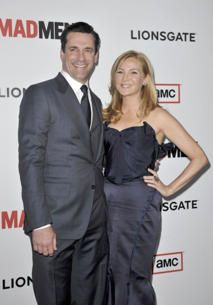 Photo Flash: Hamm, Pare & More Attend MAD MEN Season 6 Premiere in L.A.