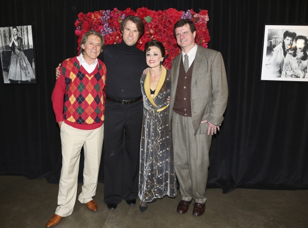 Miles Anderson, Erik Heger, Tracie Bennett and Michael Cumpsty