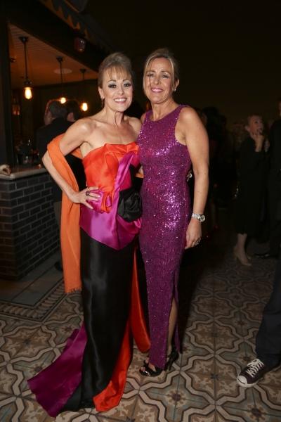 Cast member Tracie Bennett and sister Debra Birtwistle