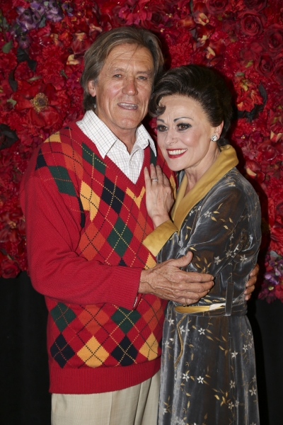 Miles Anderson and Tracie Bennett