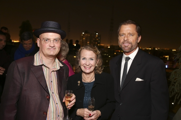 Terry Johnson, Juliet Mills and Maxwell Caulfield Photo