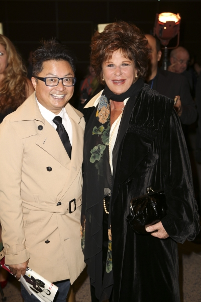 Alec Mapa and Lainie Kazan