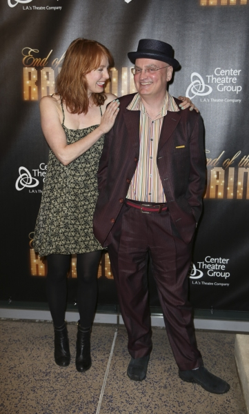 Alicia Witt and Terry Johnson