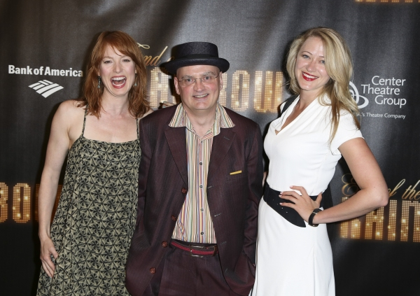 Actress Alicia Witt, Director Terry Johnson and actress Siobhan Hewlett