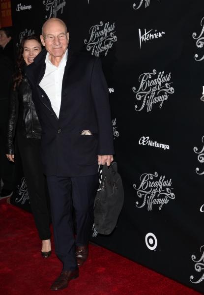 Sunny Ozell & Patrick Stewart