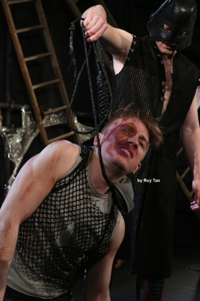 Photo Flash: First Look at Steven Webb and Zoe George in QUASIMODO at King's Head Theatre