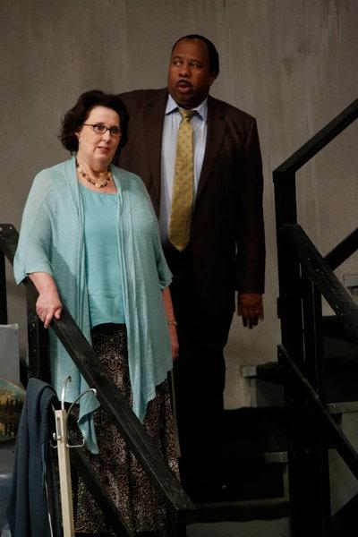 Phyllis Smith, Leslie David Baker Photo