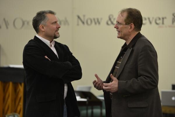 Stephen Buntrock (Emile de Becque) and Director David H. Bell