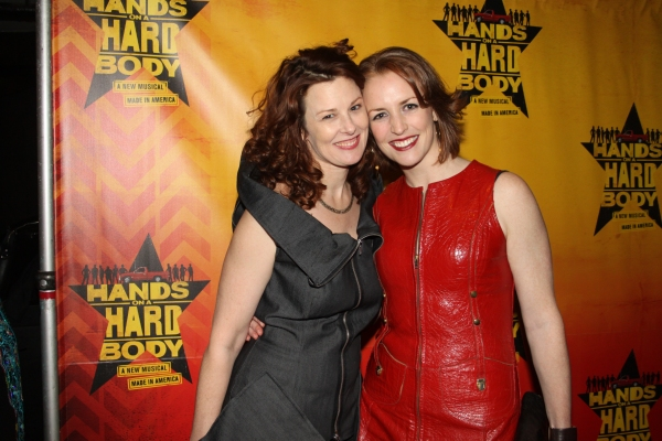 Photos: HANDS ON A HARDBODY Cast Celebrates Opening Night with Real-Life Counterparts!