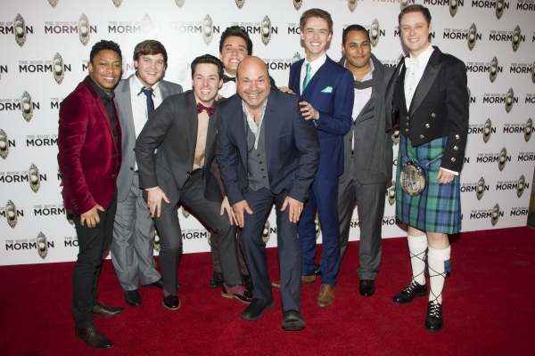 Tosh Wanogho-Maud, Daniel Buckley, Benjamin Brook, David O'Reilly, Casey Nicholaw, Evan James, Oliver Liddert and Stephen Ashfield