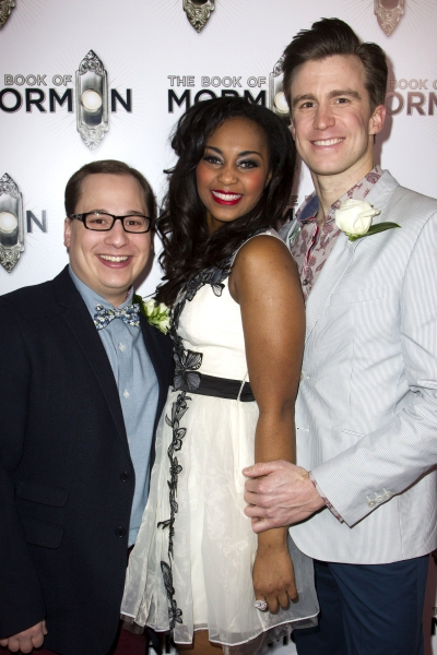 Jared Gertner, Alexia Khadime and Gavin Creel