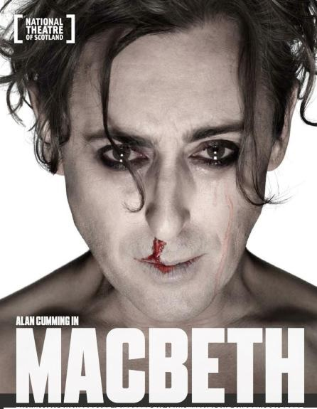 Alan Cumming Has No Qualms Saying 'MACBETH'