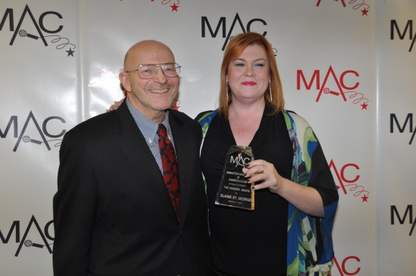 Roy Sander and Hanson Award Winner Elaine St. George