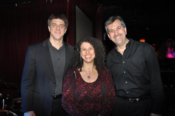 Tonight's band-Tracy Stark, David Silliman and Tom Pietrycha