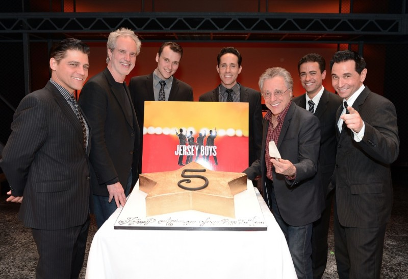 Photos: JERSEY BOYS Las Vegas Honors Frankie Valli & the Four Seasons  with Star on 'Las Vegas Walk of Stars'