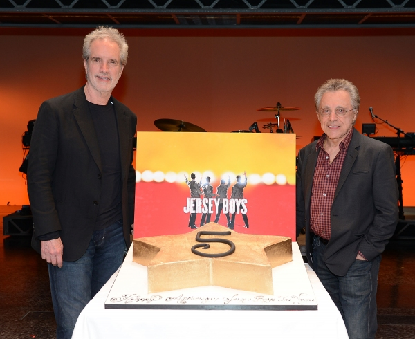 Bob Gaudio and Frankie Valli