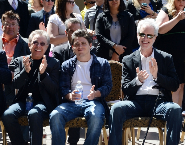 Photo Flash: JERSEY BOYS Las Vegas Honors Frankie Valli & the Four Seasons  with Star on 'Las Vegas Walk of Stars'