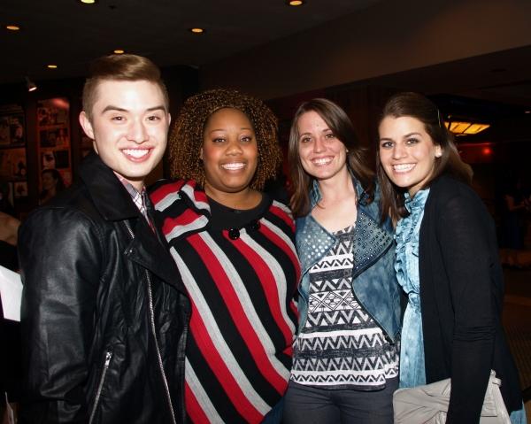 Chester Lockhart, Amber Snead, Gretchen Dawson, and Kristen Lamoureux