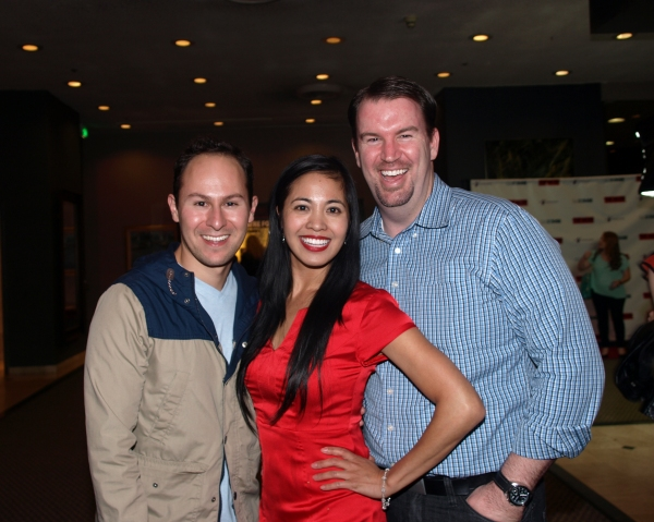 Juan Guillen, Jasmine Ejan, and Brad Fitzgerald