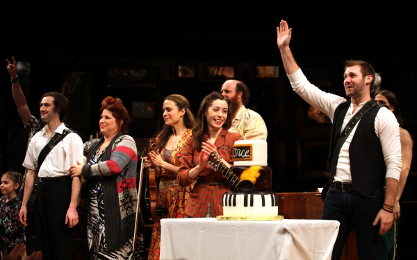 Will Connolly, Anne L. Nathan, Erikka Walsh, Cristin Milioti, Paul Whitty & Ben Hope