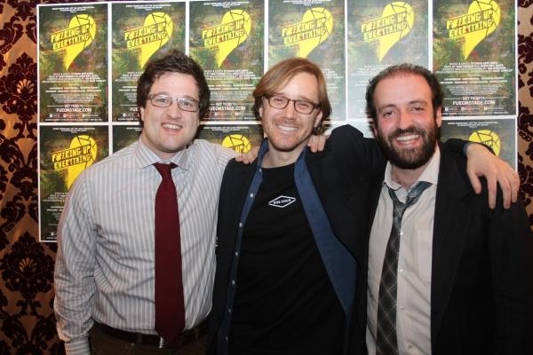 Matt Hinkley, David Eric Davis and Sam Forman
