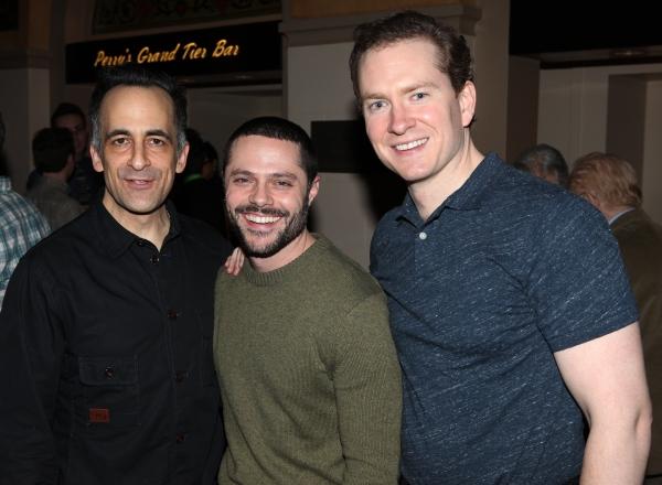 David Pittu, Joshua Bergasse, Adam Monley