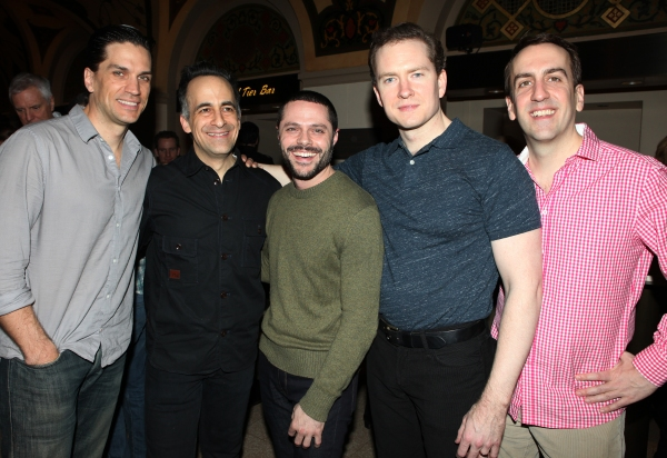 Will Swenson, David Pittu, Joshua Bergasse, Adam Monley & Rob Berman