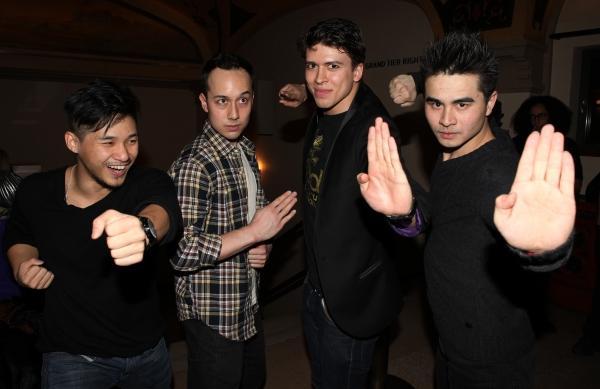 Scott Weber, Jason Ng, Craig Henningsen & Suo Liu Photo