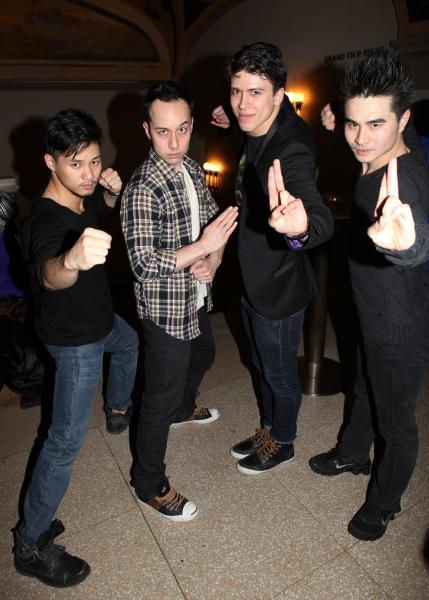Jason Ng, Scott Weber, Craig Henningsen & Suo Liu Photo
