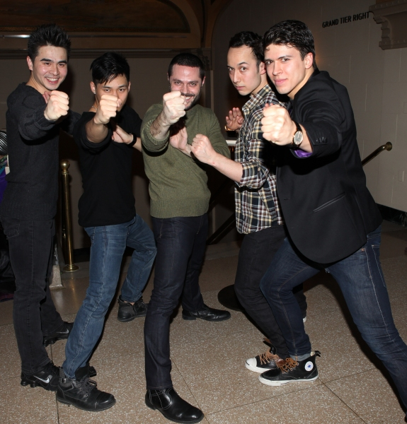 Suo Liu, Jason Ng, Joshua Bergasse, Scott Weber & Craig Henningsen