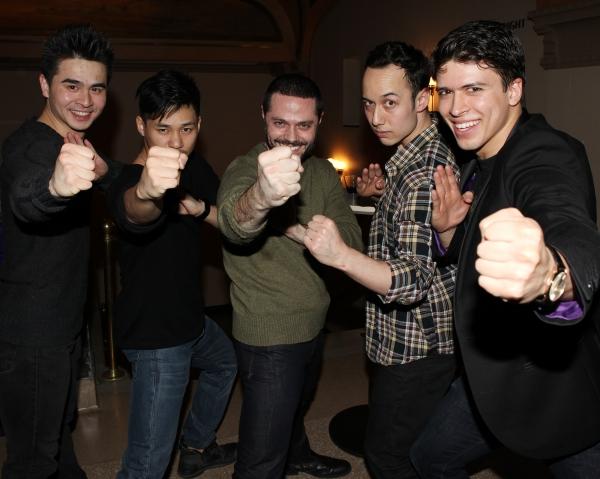 Suo Liu, Jason Ng, Joshua Bergasse, Scott Weber & Craig Henningsen Photo