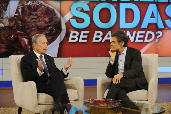 Mayor Bloomberg,Dr. Oz