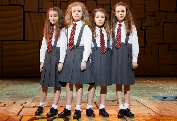 Photo Flash: First Look at MATILDA's Four Leading Ladies in Costume!