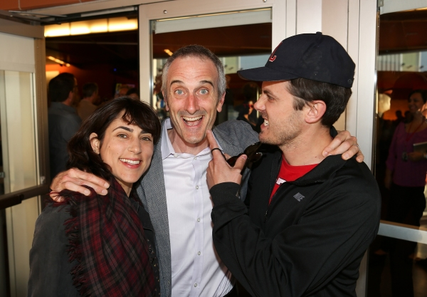 Actress Summer Phoenix, director Neel Keller and actor Casey Affleck