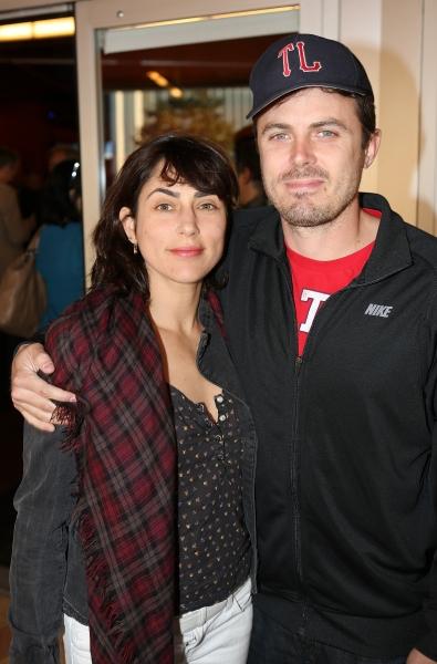 Actors Summer Phoenix and Casey Affleck