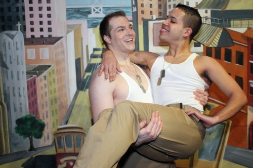 BWW REVIEWS: World Premiere Musical UNDER A RAINBOW FLAG Sheds Light On A Forgotten Chapter Of WWII