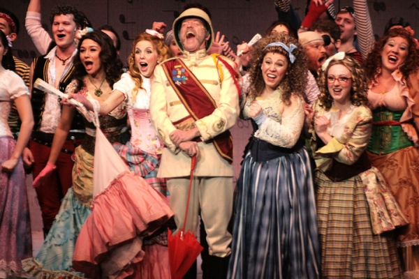 Photo Flash: First Look at Bristol Riverside Theatre's THE PIRATES OF PENZANCE
