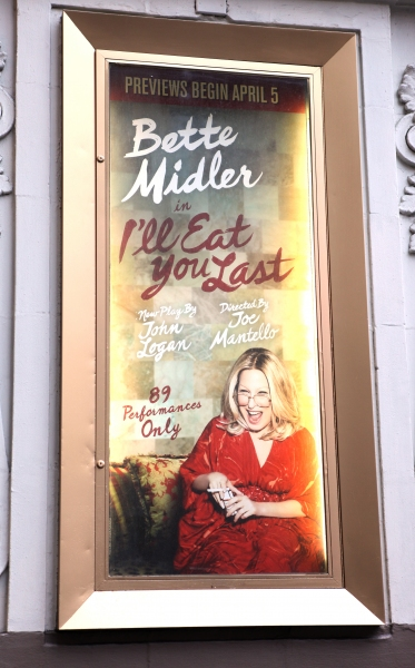 Up on the Marquee: I'LL EAT YOU LAST