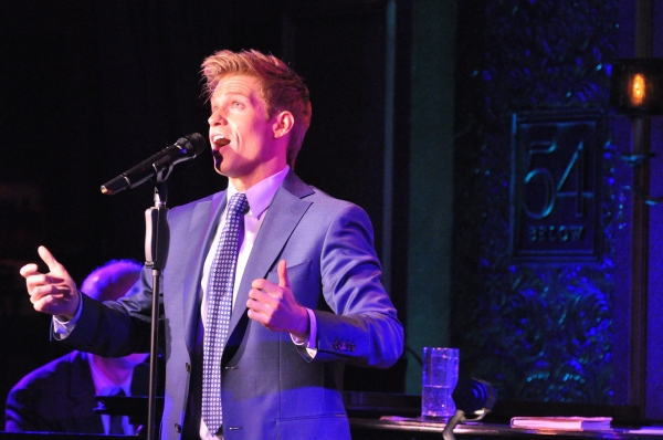 Photo Coverage: Hunter Ryan Herdlicka Plays 54 Below!