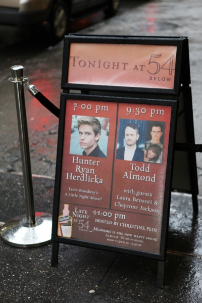 Photo Coverage: Inside Hunter Ryan Herdlicka's 54 Below Concert!