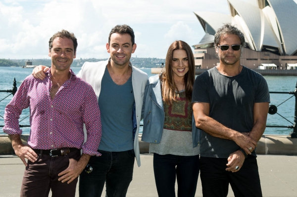 Photo Coverage: Forster And Mel C With The Australian Tour Cast Of JESUS CHRIST SUPERSTAR!