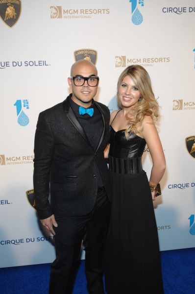 Photo Flash: Cirque du Soleil's ONE NIGHT FOR ONE DROP World Water Day Performance