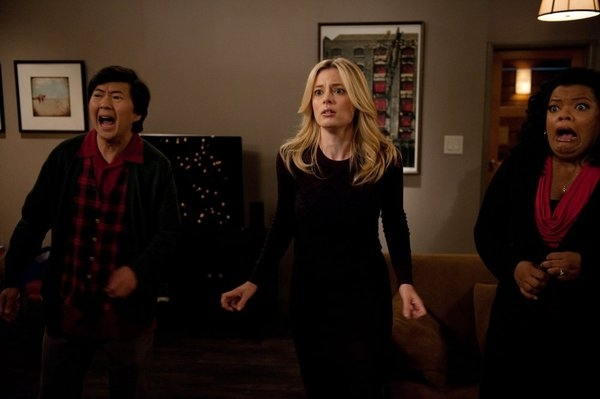 Ken Jeong, Gillian Jacobs, Yvette Nicole Brown Photo