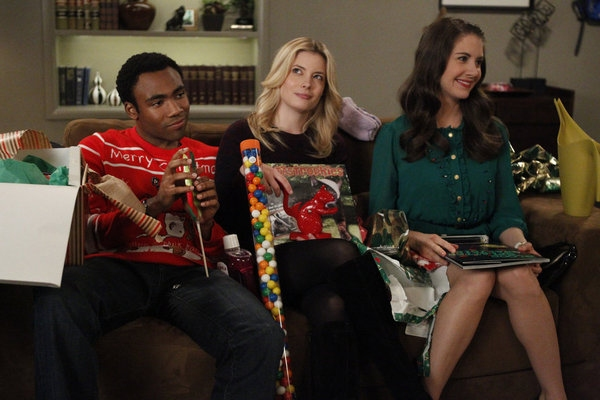 Donald Glover, Gillian Jacobs, Alison Brie