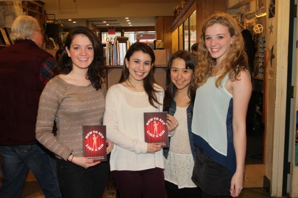 Kathryn Faughnan, Nicole Bocchi, Sarah Rosenthal and Devynn Pedell