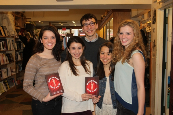 Kathryn Faughnan, Nicole Bocchi, Alex Burstein, Sarah Rosenthal and Devynn Pedell Photo