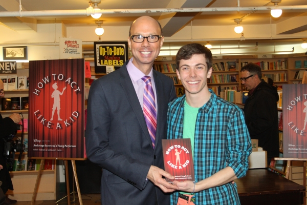 Photo Coverage: Henry Hodges Signs HOW TO ACT LIKE A KID at Drama Book Shop!